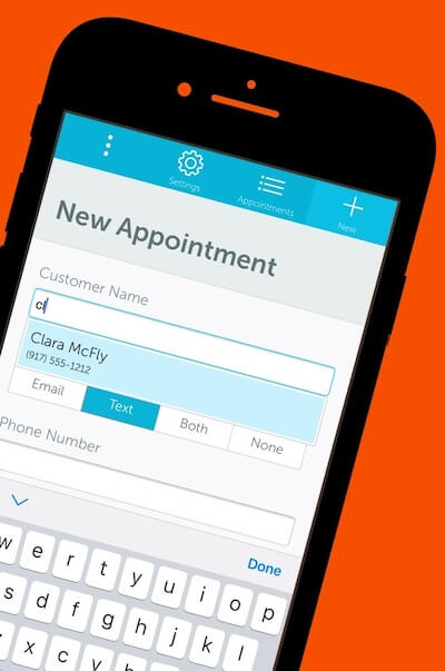 GoReminders is the best appointment scheduling app for iPhone, iPad, and Android