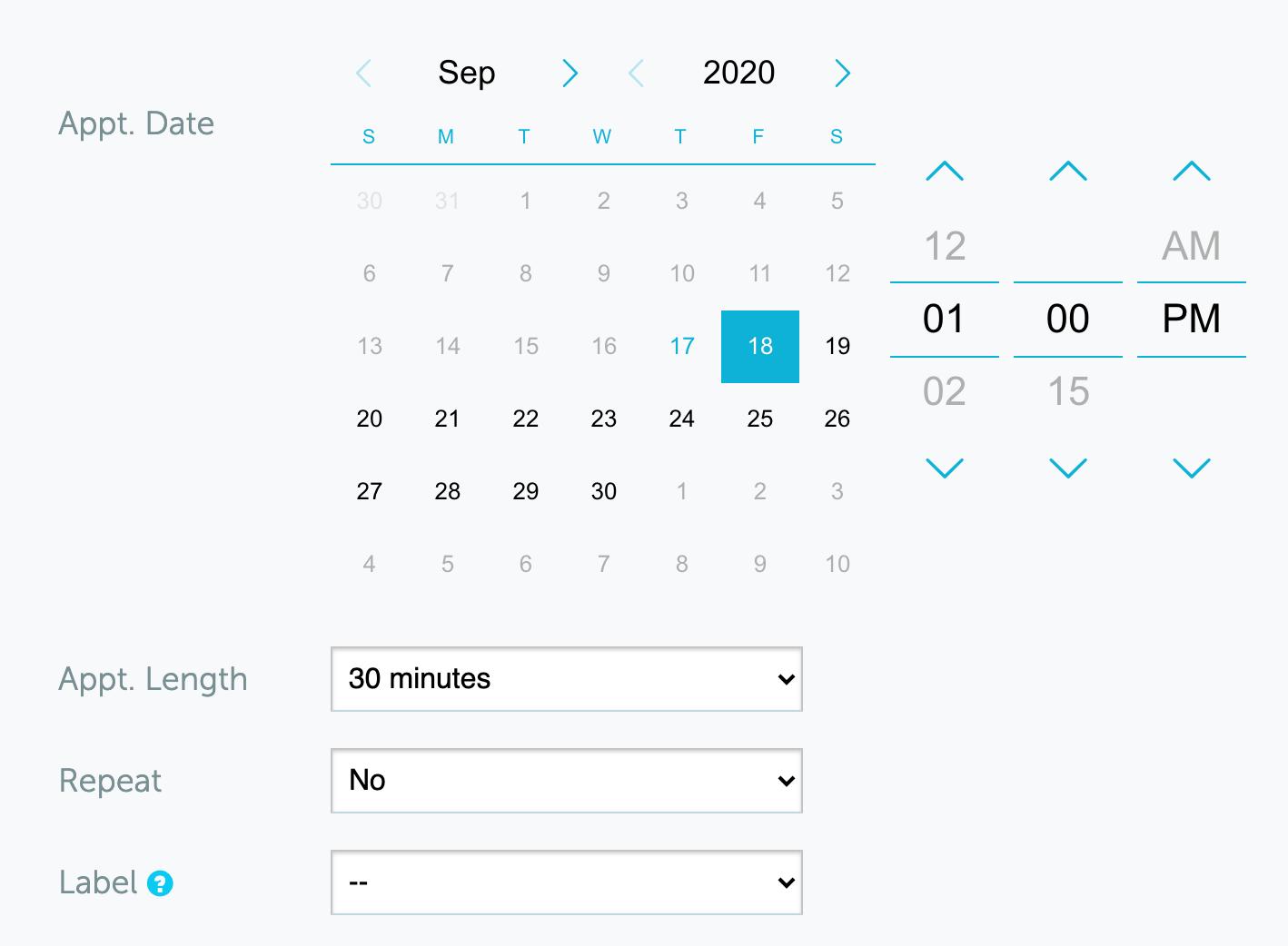 Schedule text messages
