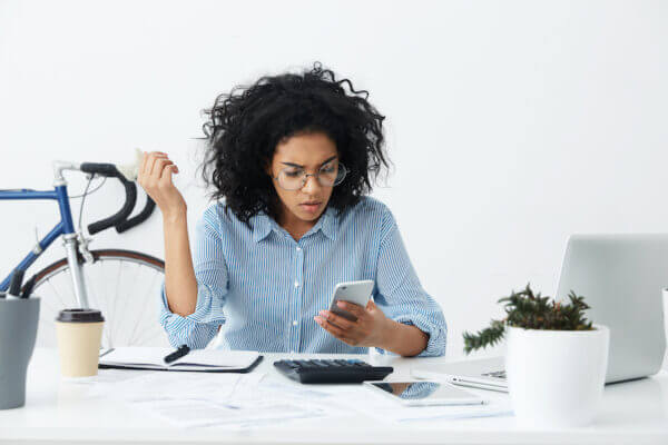 Woman concerned about an cancelled appointment